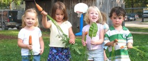 Early Sprouts program for preschool children